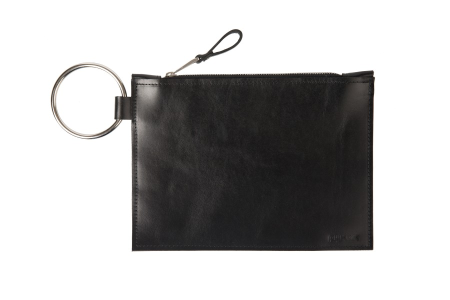 Mini clutch with O ring || black